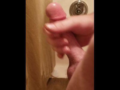 Masturbating In The Shower Before Work Big Cum Shot - samaturecammin