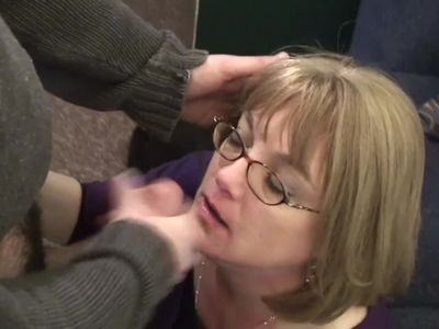 Housewife Gets Surprise Trick Facial