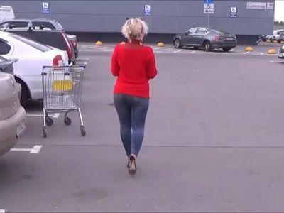 Jeans Big Ass Flashing