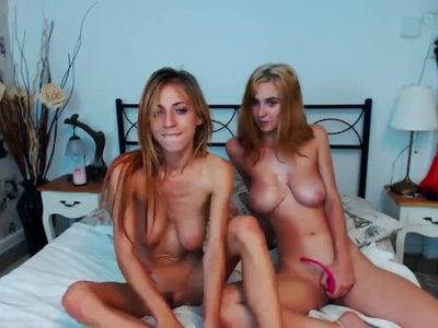 two lesbians fuck on camera
