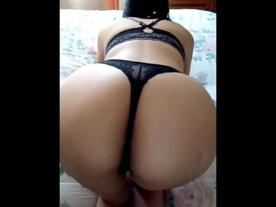 cougar wife in sexy panties and spanked ass!