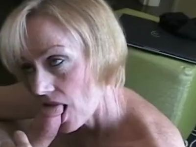 GILF Blowjob For A Rainy Day
