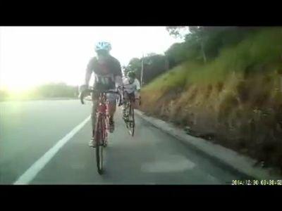 Mature sexy man falls of bike *gone sexual*