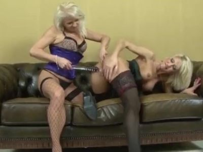 Lovely white grannies get anals stuffed with BBC