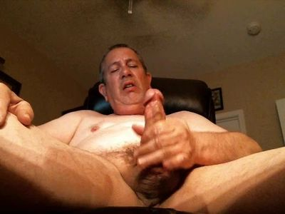 Watching Daddy Wank From Below