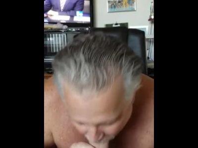 Grandpa Tasting Cock 2