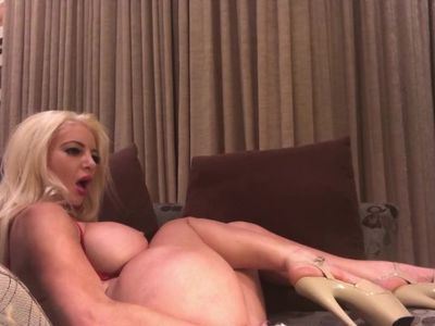 Nicolette Shea Exclusive footage BTS