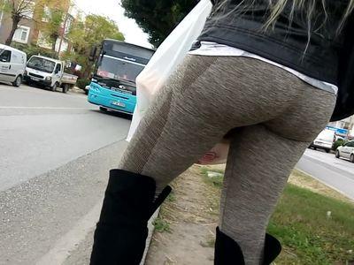 turkish mature amazing butt cameltoe