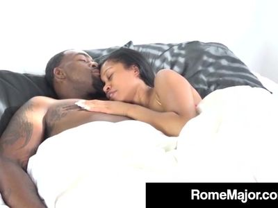 Black Bull Rome Major Gets His BBC Sucked By Yasmine De Leon