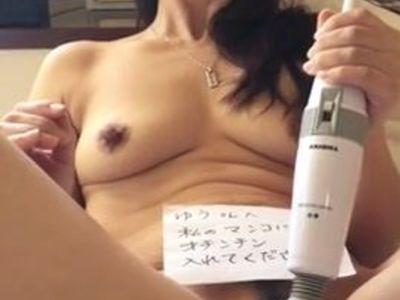 Mature Asian Pleasing Herself