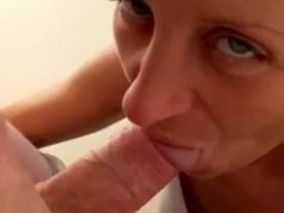 Real Horny Polish MILF Giving Head
